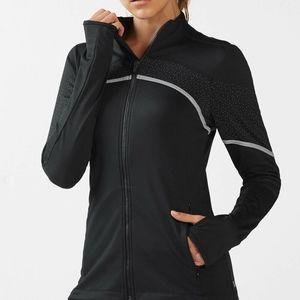 Fabletics Reflective Long Sleeve Full Zip Jacket S